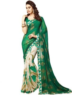 Modish Vogue Printed Bollywood Chiffon Sari