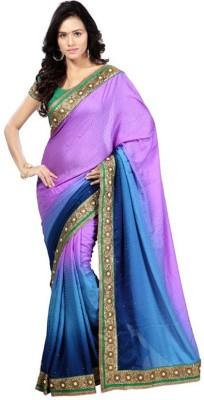 Kintu Designs Pvt. Ltd. Embriodered Fashion Jacquard Sari