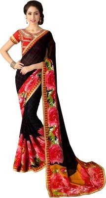 Daksh Enterprise Printed Daily Wear Georgette Sari