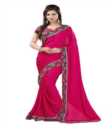 ambey shree trendz Printed Fashion Georgette Sari
