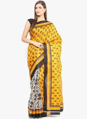 The Designer House Geometric Print Fashion Art Silk Sari