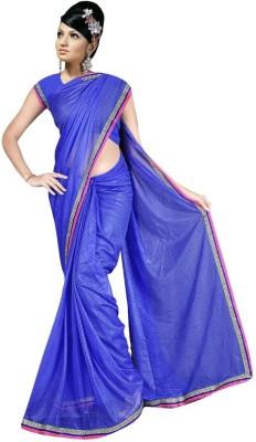 DWM Solid Fashion Viscose Sari