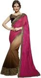 Fashionate Embroidered Fashion Net Saree...