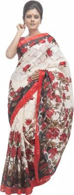 Retaaz Floral Print Daily Wear Cotton Sari