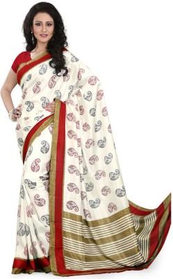 Sarovar Sarees Self Design, Geometric Print, Floral Print, Striped, Plain, Printed Fashion Silk Sari
