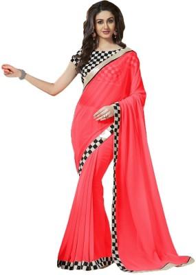 RadadiyaTRD Embriodered Fashion Georgette Sari