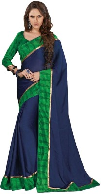 Subhash Sarees Self Design Daily Wear Georgette Sari
