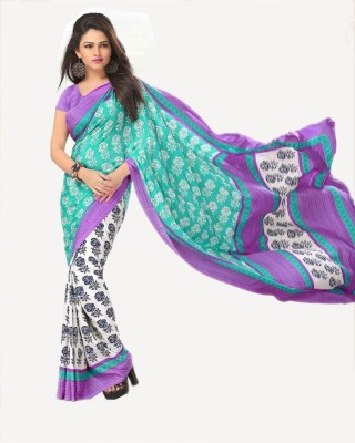 Jhumri Printed Daily Wear Handloom Crepe Sari