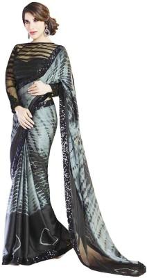 PAHAL FASHION Printed Bollywood Satin Sari