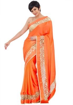 Styloce Self Design Bollywood Handloom Chiffon Sari