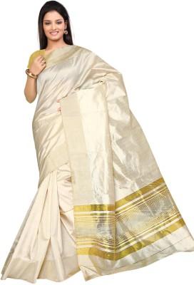 Fashion Tadka Solid Venkatagiri Silk Sari