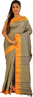 Teeforme Self Design Arani Pattu Silk Cotton Blend Sari