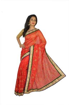 Vasundhara Lifestyle Self Design Fashion Net, Brasso Sari