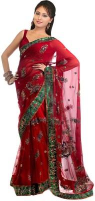 Sanjana2SwarupaFashion Self Design Daily Wear Net Sari