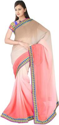 Suchi Fashion Self Design, Embriodered Fashion Chiffon Sari