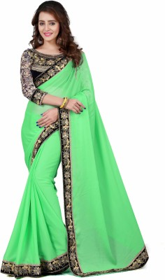 Mahalaxmi Embriodered Bollywood Pure Georgette Sari