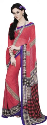 Fashiondodo Printed Fashion Georgette Sari