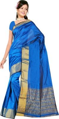 Being Feminine Printed Daily Wear Poly Silk Sari