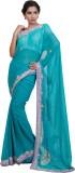 Adaab Embroidered Fashion Chiffon Saree ...