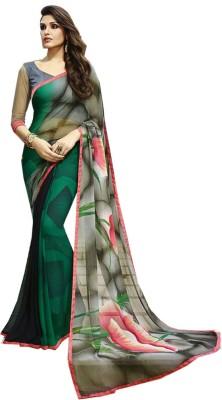 Lady Berry Printed Fashion Georgette Sari
