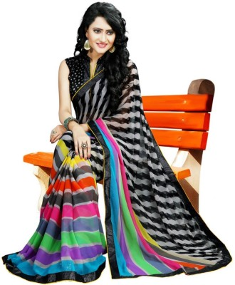 JVSN CREATION Self Design Fashion Cotton Sari