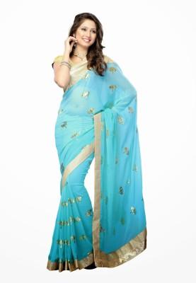 Dancing Girl Printed Bollywood Georgette Sari