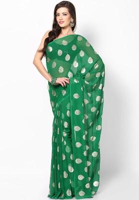 Ufc Mart Printed Fashion Chiffon Sari