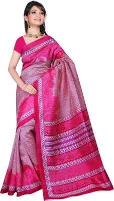 Lovelylook Printed Daily Wear Art Silk Sari