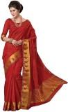 Radhika Creation Plain Fashion Art Silk ...