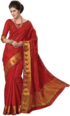 Radhika Creation Plain Fashion Art Silk Sari