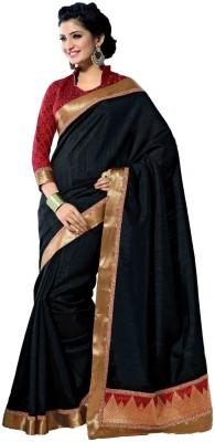 Sudarshan Silks Printed Chanderi Handloom Georgette, Net Sari
