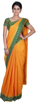 Masterweaver India Self Design Mangalagiri Cotton Sari