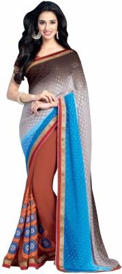 TAANA Embriodered Fashion Georgette Sari