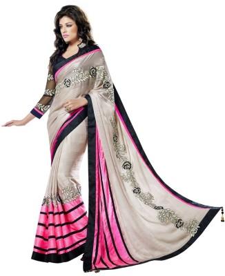 MahotsavSarees Embriodered Fashion Silk Sari