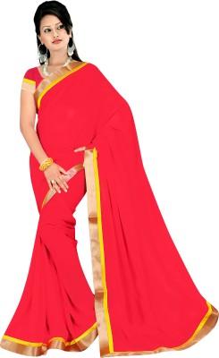 Simran Fashion Embellished Fashion Handloom Chiffon Sari