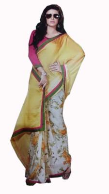 Geeta Choice Centre Printed Fashion Chiffon Sari