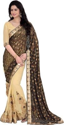 Saara Embriodered Fashion Satin Sari