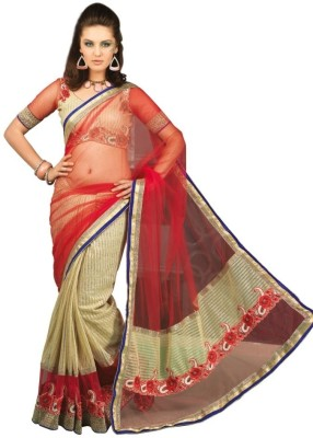 Chirag Sarees Self Design Fashion Organza Sari