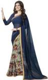 Makekaartz Printed Bollywood Georgette S...