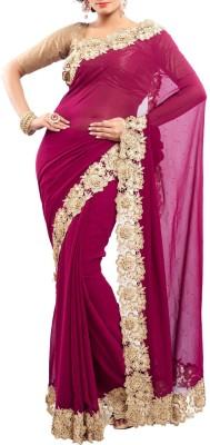 Estri Floral Print Fashion Handloom Georgette Sari
