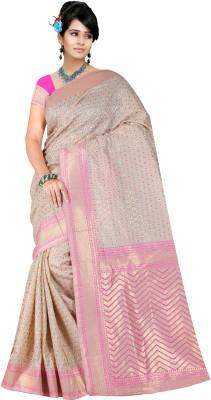 STYLE SENSUS Printed Fashion Banarasi Silk Sari