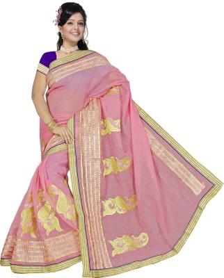 Sarees House Self Design Daily Wear Cotton, Net Sari
