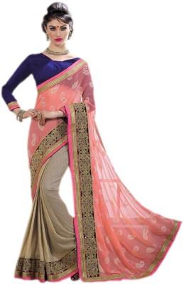 KL COLLECTION Embellished Fashion Georgette Sari