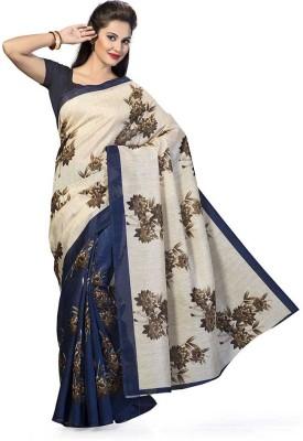 Being Feminine Printed Bhagalpuri Art Silk Sari