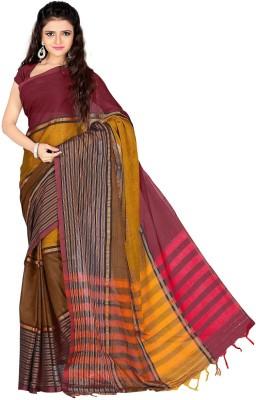 Harsh Sarees Striped Fashion Cotton Sari