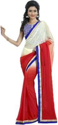 Abhinal Fashion Embriodered Fashion Georgette Sari