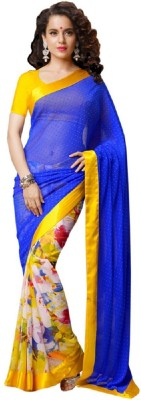 MyDeal Embriodered Fashion Chiffon Sari