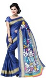 SHABARI Self Design Bhagalpuri Sari (Blu...