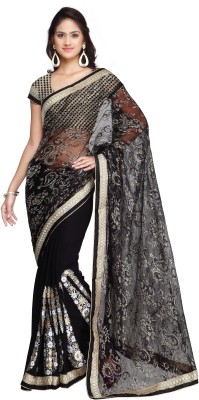 Luxuria Embellished Daily Wear Net Sari