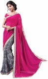 Vipul Printed Fashion Georgette Saree (P...